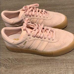 Like New Samba Rose Women's Adidas Size 8